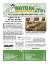 Nature Manitoba News: Spring 2015