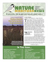 Nature Manitoba News: May/June 2012