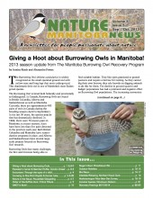 Nature Manitoba News: September/October 2013