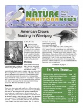 Nature Manitoba News: January / February 2011