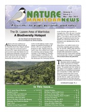 Nature Manitoba News: March/April 2013