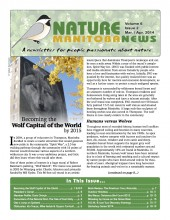 Nature Manitoba News: March/April 2014