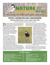 Nature Manitoba News: Fall 2015