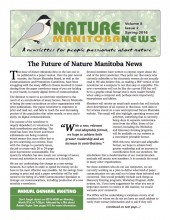 Nature Manitoba News: Spring 2016
